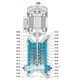 Odstredivé čerpadlo Calpeda MXV-B 25-206 1,1kW 400V