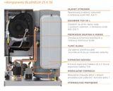 Plynový kotol Ferroli BLUEHELIX 25 K 50