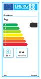Plynový ohrievač vody 150l Quadriga 150P FB(Q8 150 FB)