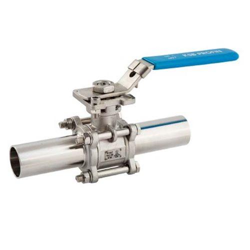 Guľový ventil KSB PROFIN-SI3LIT PN40 DN65 - trojdielny