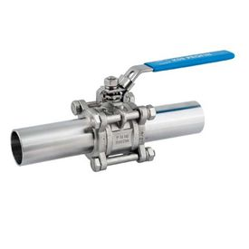 Guľový ventil KSB PROFIN-VT3L PN40 DN65 - trojdielny