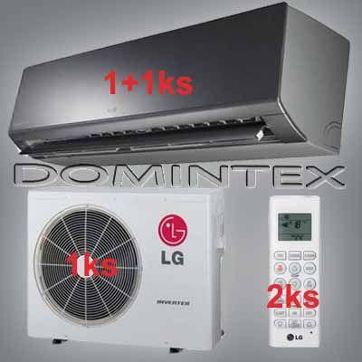 Klimatizácia LG ArtCool 6,1kW 1xAM09BP/1xAM12BP