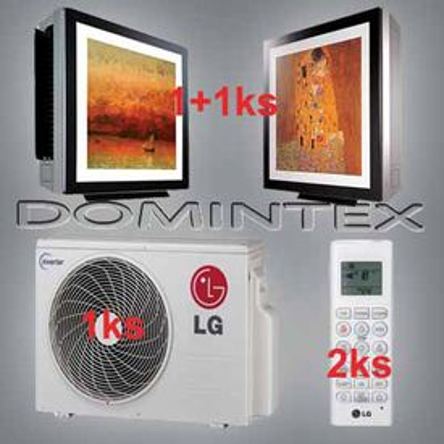 Klimatizácia LG Gallery 6,1kW 1xMA09AH1/1xMA12AH1