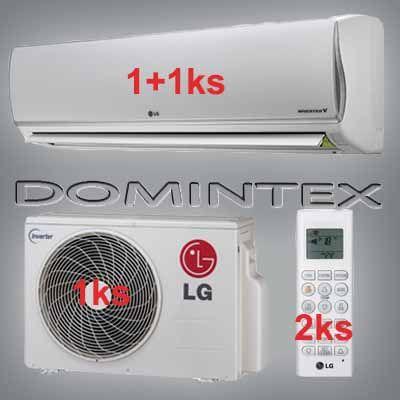 Klimatizácia LG DeLuxe 5,5kW 1xDM07RP/1xDM12RP
