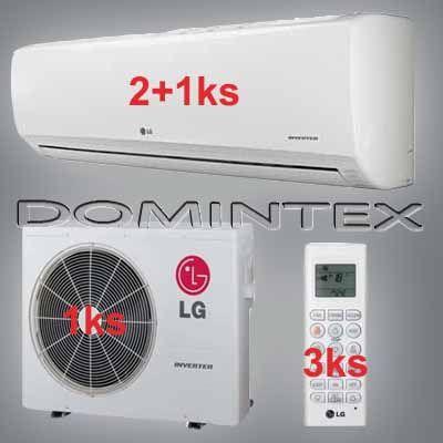 Klimatizácia LG Standard Plus 9,3kW 2xPM07SP/1xPM18SP