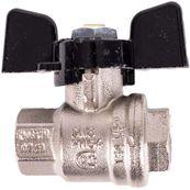 """Guľový ventil Bugatti BUG 302 3/4"""" s motýlikom"""