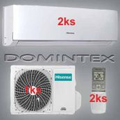 Klimatizácia Hisense Comfort 5,2kW 2xAST-09UW4SVEDJ10
