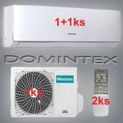 Klimatizácia Hisense Comfort 5,5kW 1xAST-07UW/1xAST-12UW