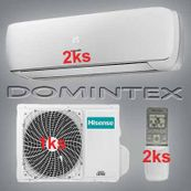 Klimatizácia Hisense Mini Apple Pie 7kW 2xAST-12UW4SVETG10