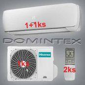 Klimatizácia Hisense Mini Apple Pie 6,1kW 1xAST-09UW/1xAST-12UW
