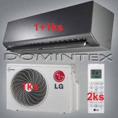 Klimatizácia LG ArtCool 5,5kW 1xMS07AQ/1xMS12AW