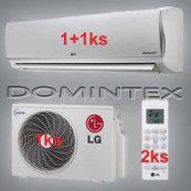 Klimatizácia LG DeLuxe 4,6kW 1xMS07AQ/1xMS09AQ