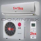 Klimatizácia LG DeLuxe 6,1kW 1xMS09AQ/1xMS12AQ