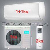 Klimatizácia Midea Mission 6,1kW 1x09HRFN1/1x12HRFN1