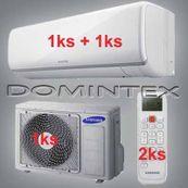 Klimatizácia Samsung 6KW Boracay+ 1x2.5kW/1x3.5kW