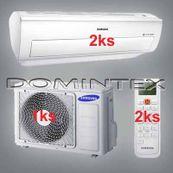Klimatizácia Samsung Good2 5/6.6kW-2xAR09KSWNAWKNET