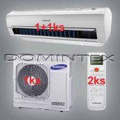 Klimatizácia Samsung Good2 7.5kW AR5000 1x2.5kW/1x5.0kW