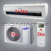 Klimatizácia Samsung Good2 4.5kW AR5000 1x2.0kW/1x2.5kW
