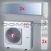Klimatizácia Toshiba Super Daiseikai 6.5 7kW RAS-B13N3KVP-E-2x