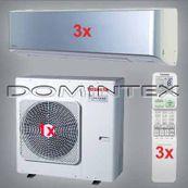 Klimatizácia Toshiba Super Daiseikai 6.5 10.5kW RAS-B13N3KVP-E-3x