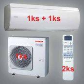 Klimatizácia Toshiba SuperDaiseikai 6.5 8kW 1xRAS-B13N 1xRAS-B16N