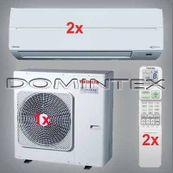 Klimatizácia Toshiba Suzumi Plus 7kW RAS-B13N3KV2-E-2x