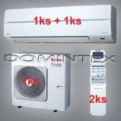 Klimatizácia Toshiba Suzumi Plus 8kW 1xRAS-B13N 1xRAS-B16N