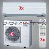 Klimatizácia Toshiba Suzumi Plus 7.5kW RAS-B10N3KV2-E-3x