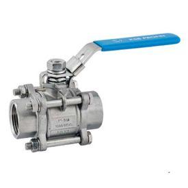 "Guľový ventil KSB PROFIN-VT3 PN40 DN15/1/2"" - trojdielny"