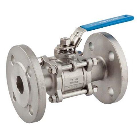 Guľový ventil KSB PROFIN-VT3F PN40 DN65 - trojdielny