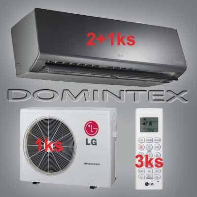 Klimatizácia LG ArtCool 7,7kW 2xAM07BP/1xAM12BP