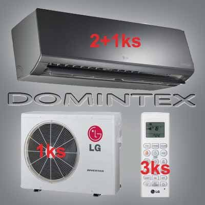 Klimatizácia LG ArtCool 8,7kW 2xAM09BP/1xAM12BP