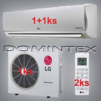 Klimatizácia LG DeLuxe 6,1kW 1xDM09RP/1xDM12RP