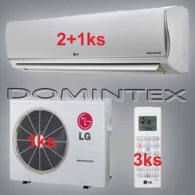 Klimatizácia LG DeLuxe 7,5kW 2xDM07RP/1xDM12RP