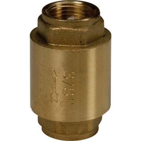 """Spätný ventil Giacomini R60 1"""" s mosadzným diskom"""